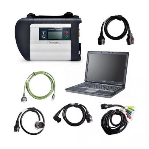 DIAGNOSI MB SD 4 CONNECT WI-FI ETHERNET FULL KIT - Diagnosi mercedes + PC Dell